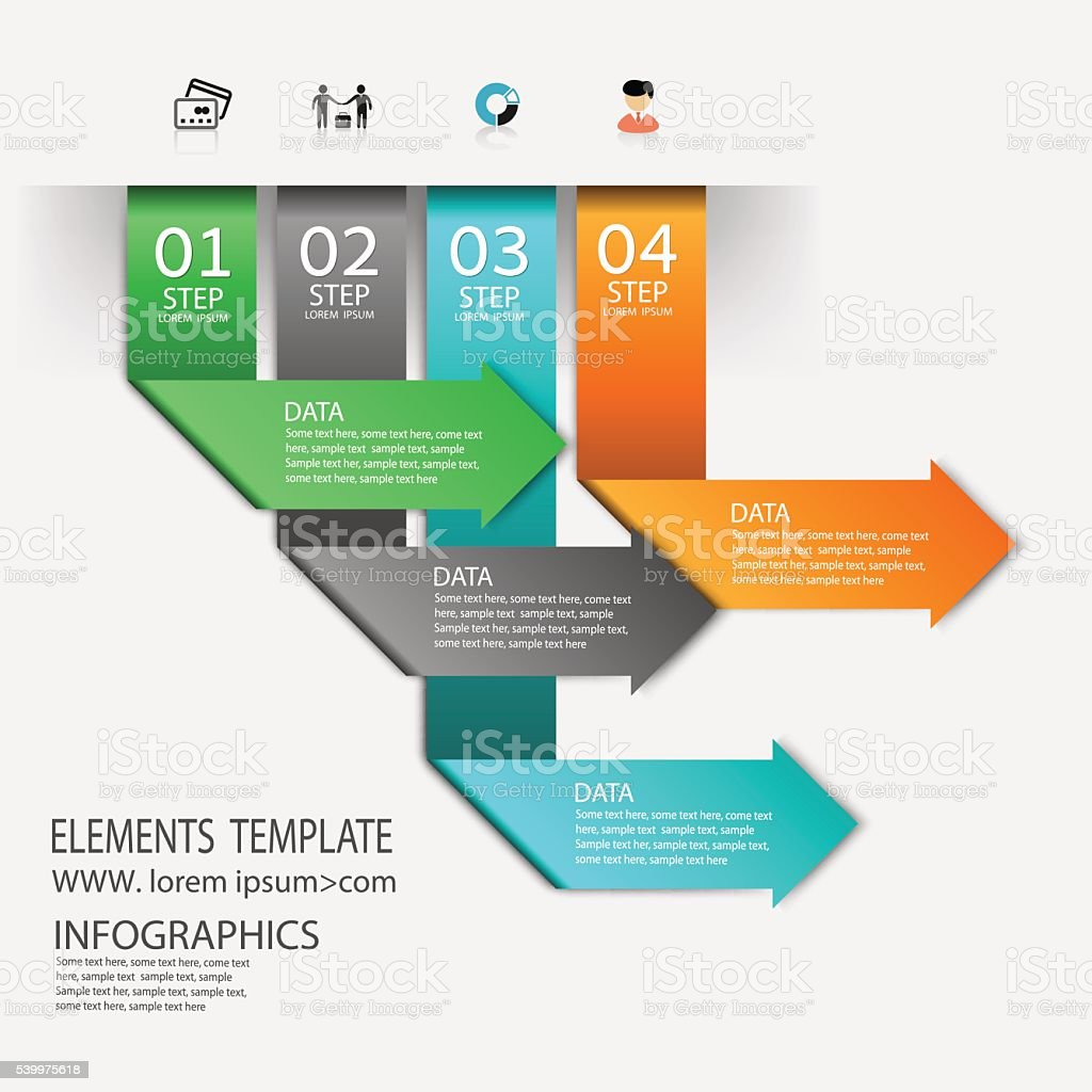 Time line infographic and icons vector design template. vector art illustration