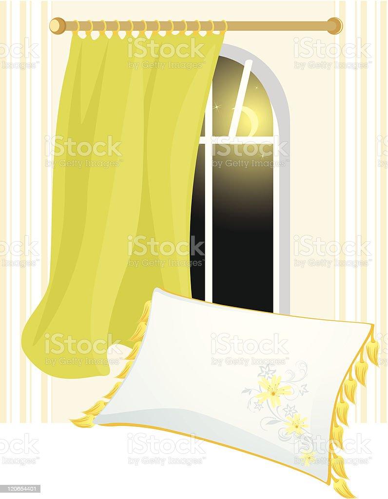 Time of sleep royalty-free stock vector art
