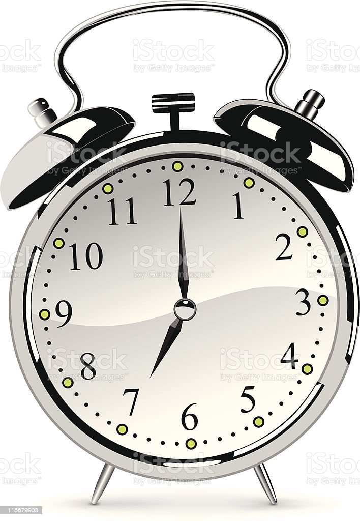 Time to Get Up!! royalty-free stock vector art