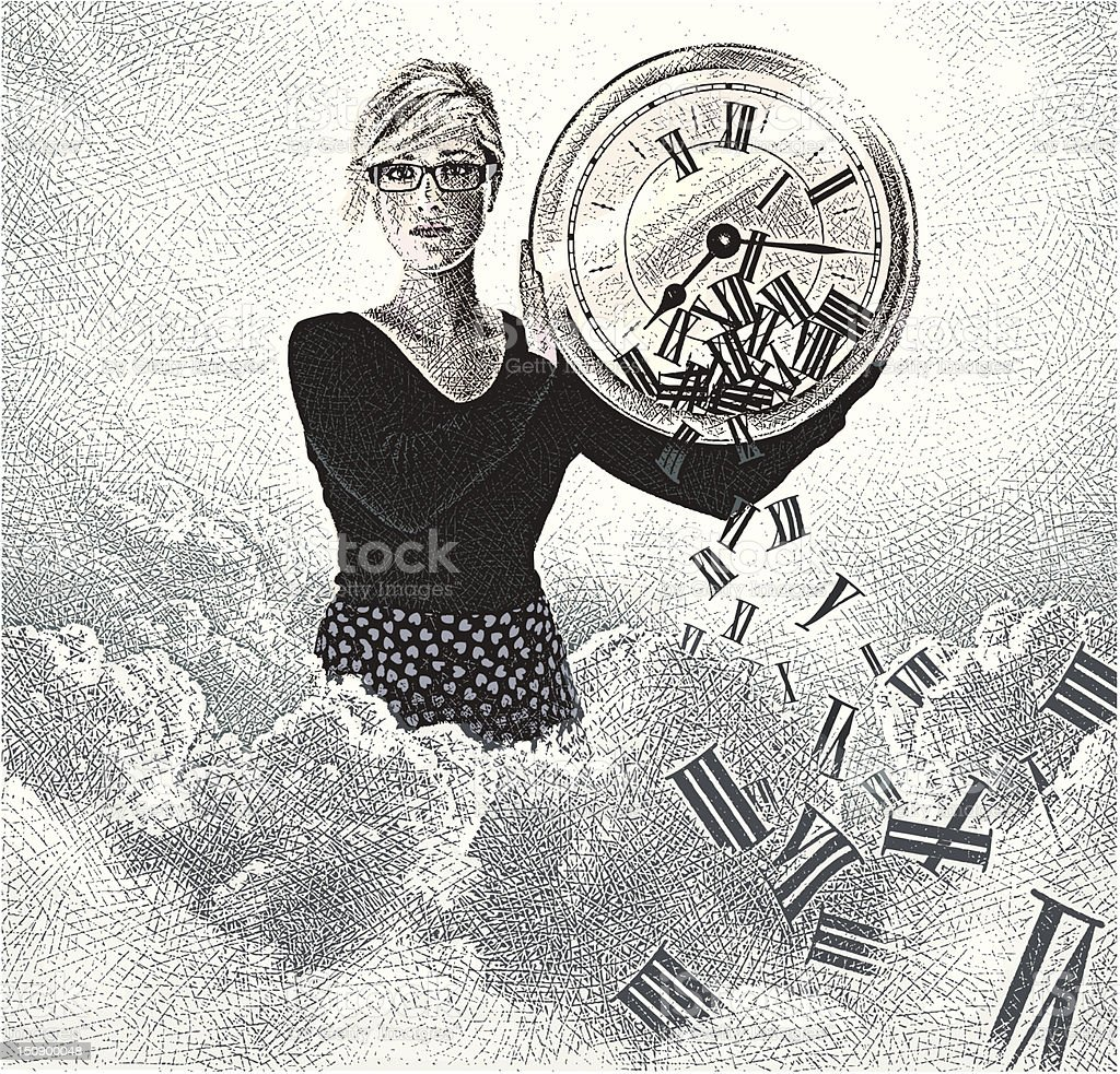 Time. royalty-free stock vector art