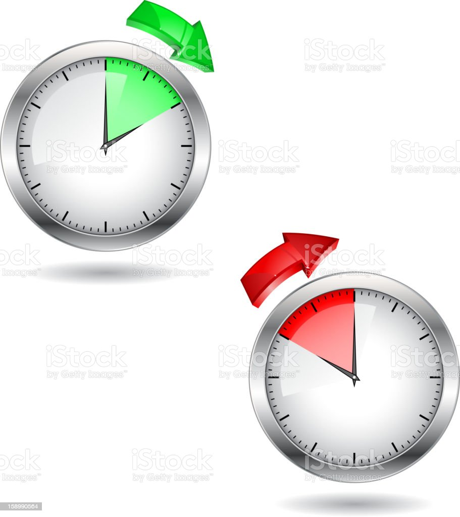 Time royalty-free stock vector art