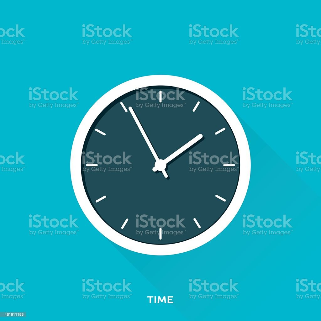 Time vector art illustration