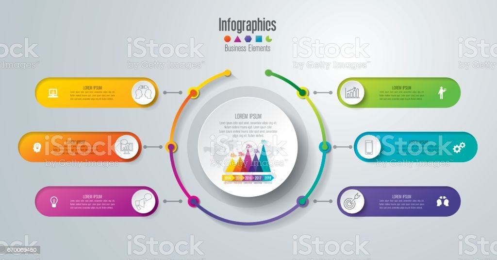 Timeline infographics design vector and business icons. royalty-free stock vector art