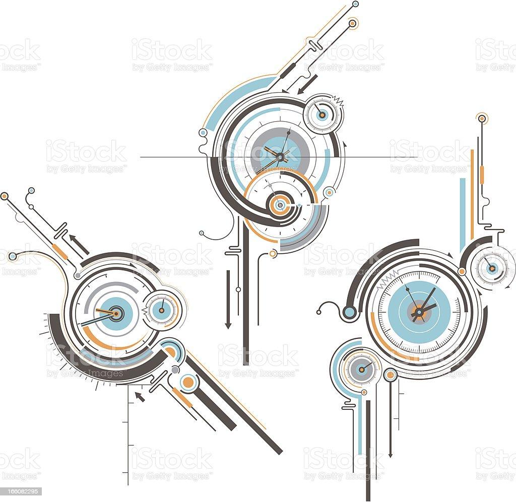 timer royalty-free stock vector art