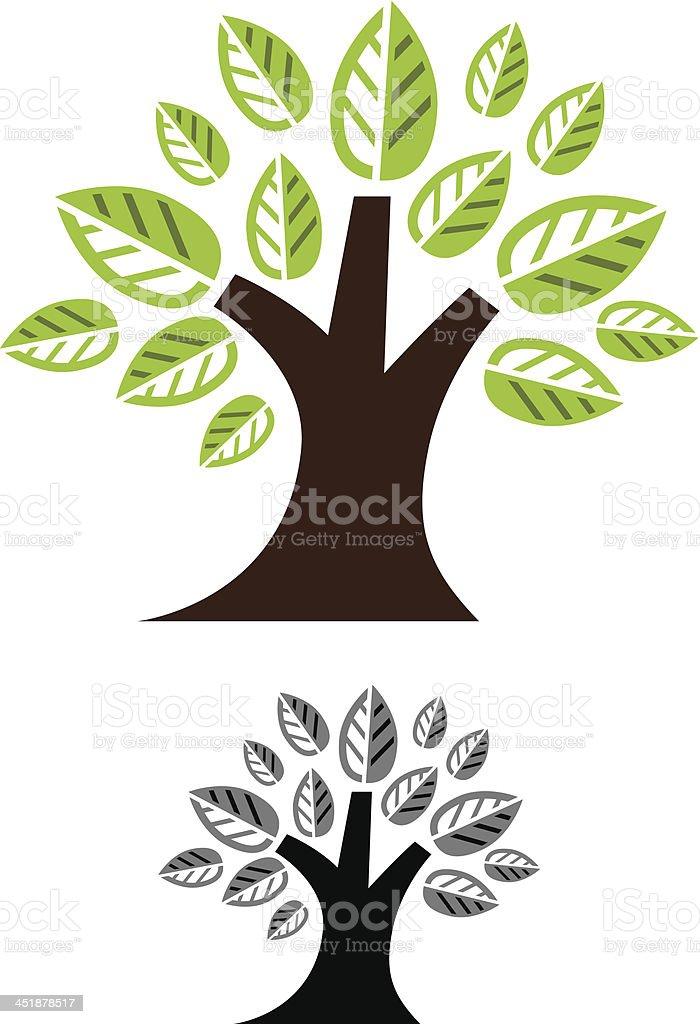 Tiny tree royalty-free stock vector art