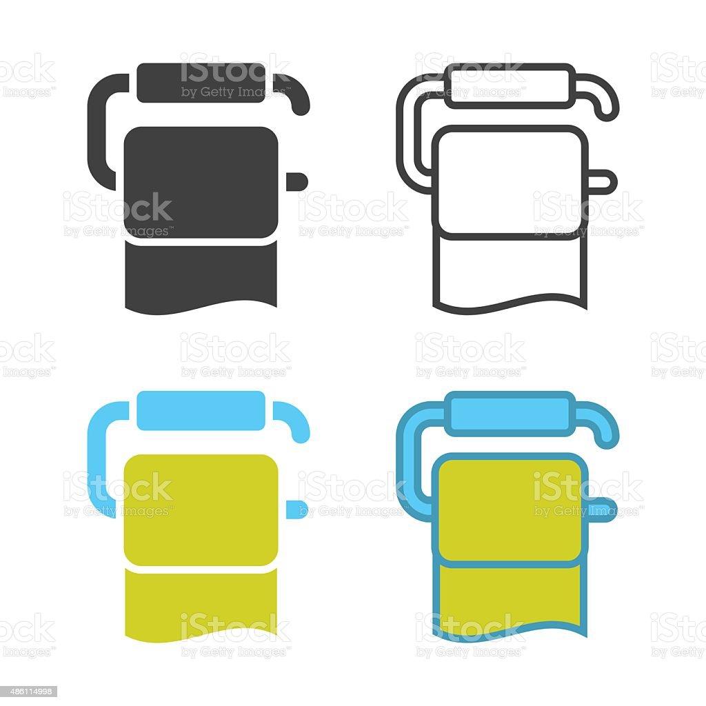 Tissue Icon vector art illustration