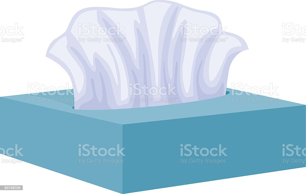 Tissues royalty-free stock vector art