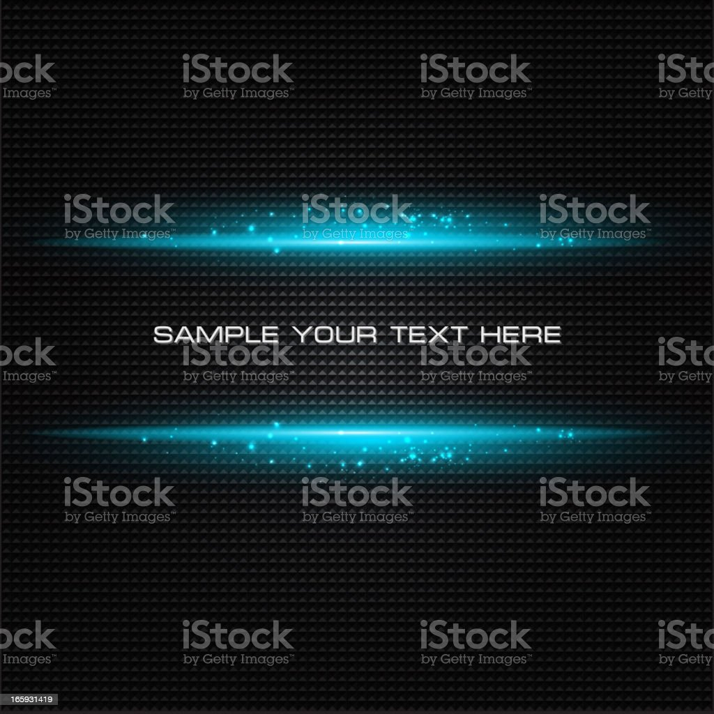 Title sample for abstract dark background vector art illustration