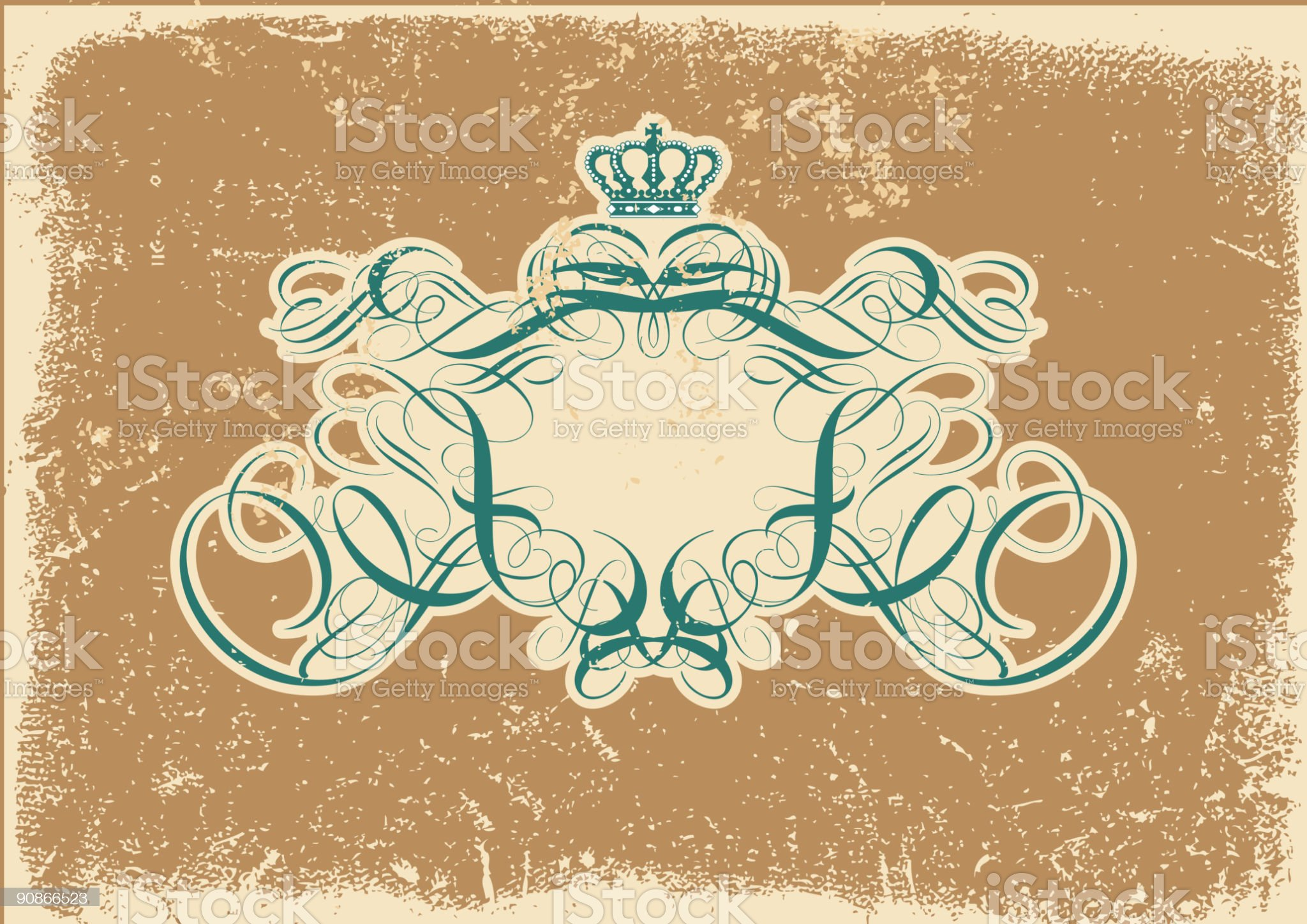 titling frame royalty-free stock vector art