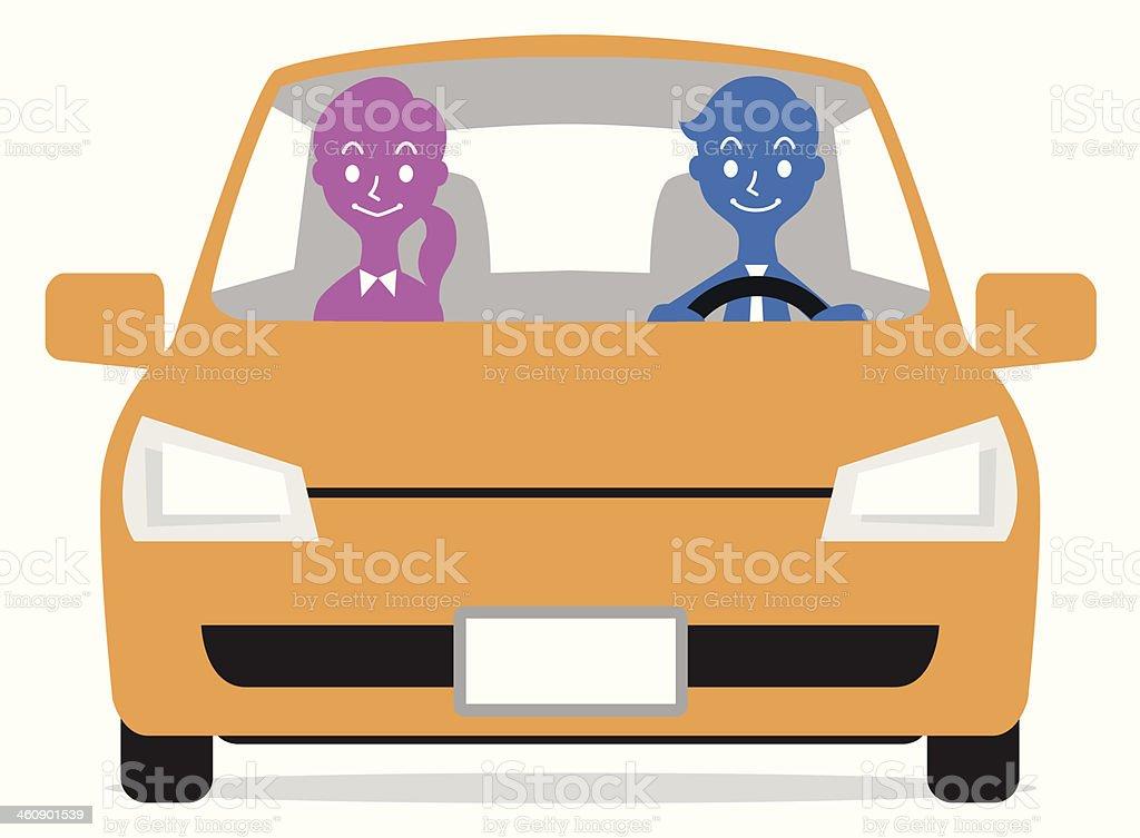To drive vector art illustration