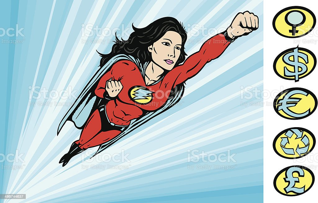 To the Rescue vector art illustration
