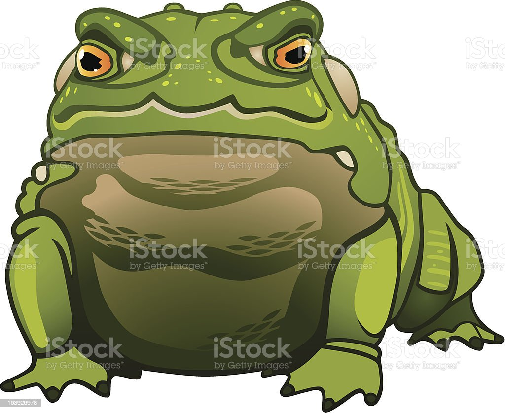 Toad royalty-free stock vector art