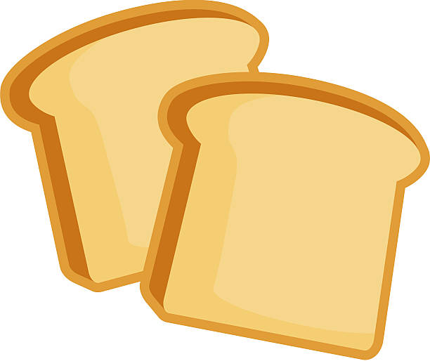 Toast Bread Clip Art, Vector Images & Illustrations - iStock