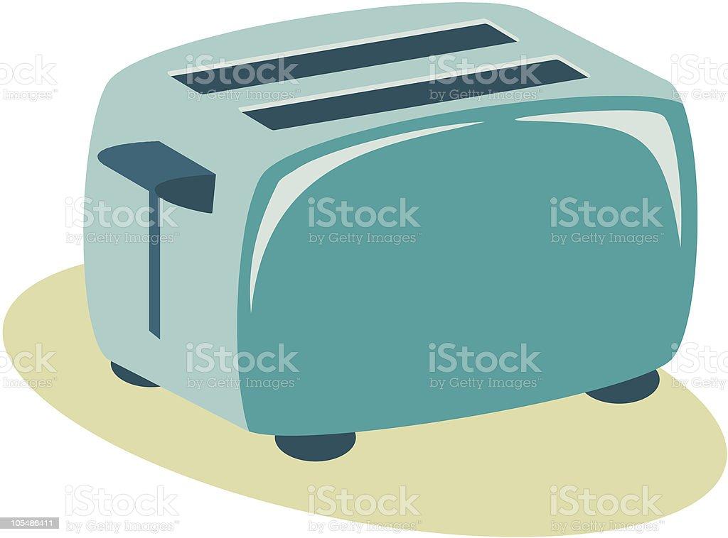 toaster royalty-free stock vector art