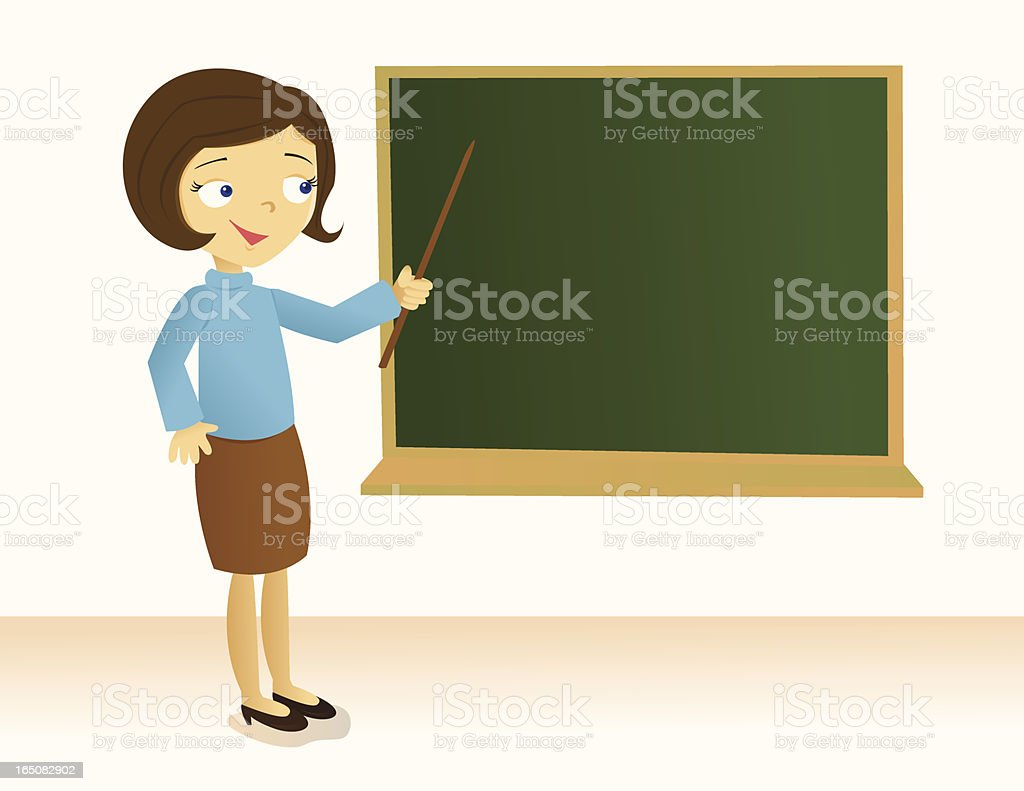 Today's Lesson royalty-free stock vector art