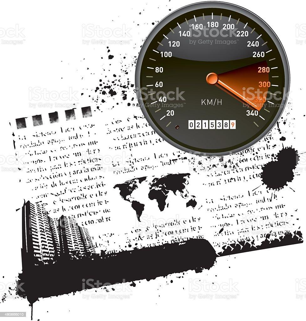 today's world lifestyle vector art illustration