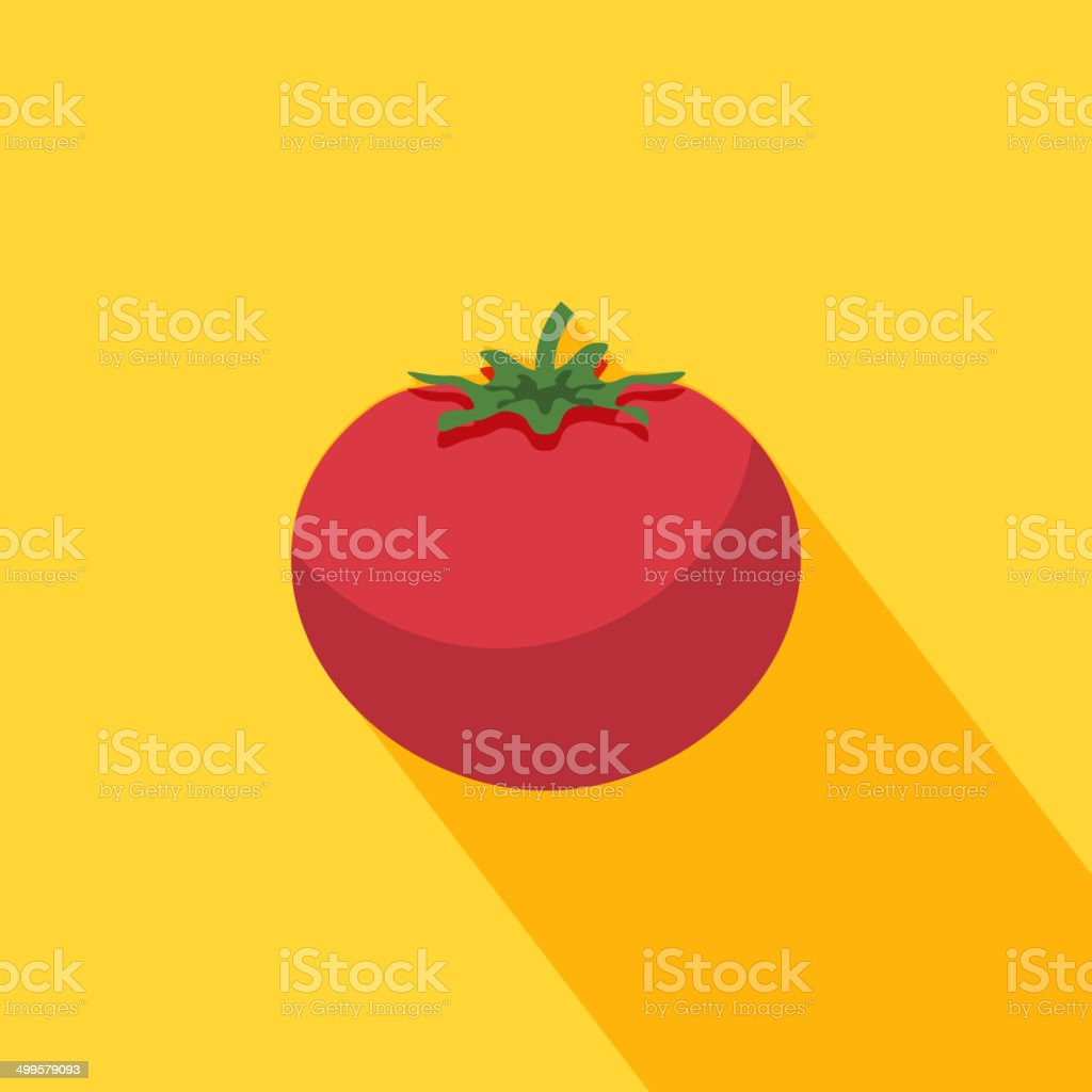 Tomato icon vector art illustration