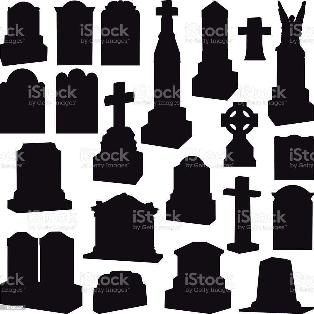 tombstone clip art  vector images   illustrations istock tombstone vector icon realistic tombstone vector