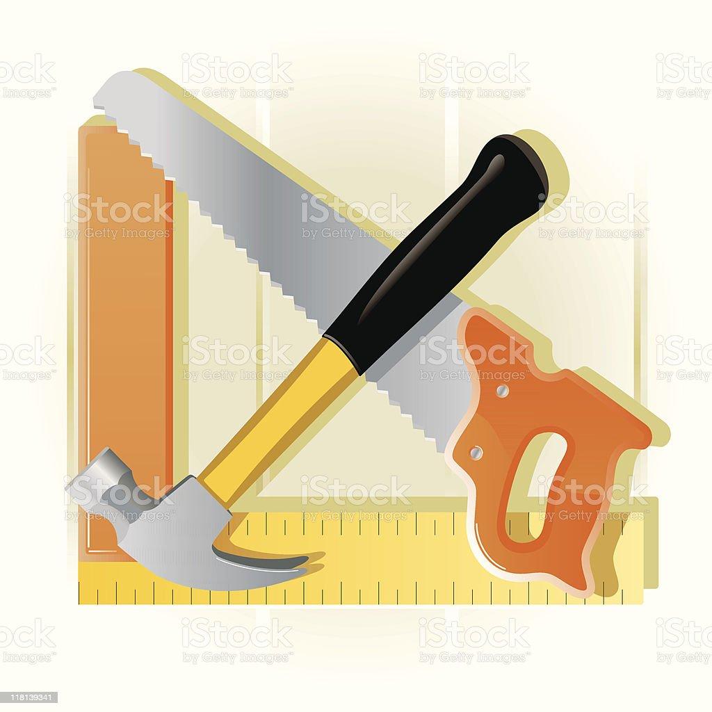 Tool vector art illustration