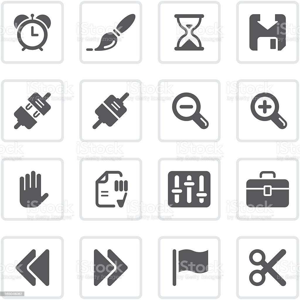 Toolbar & Interface icons | prime series vector art illustration