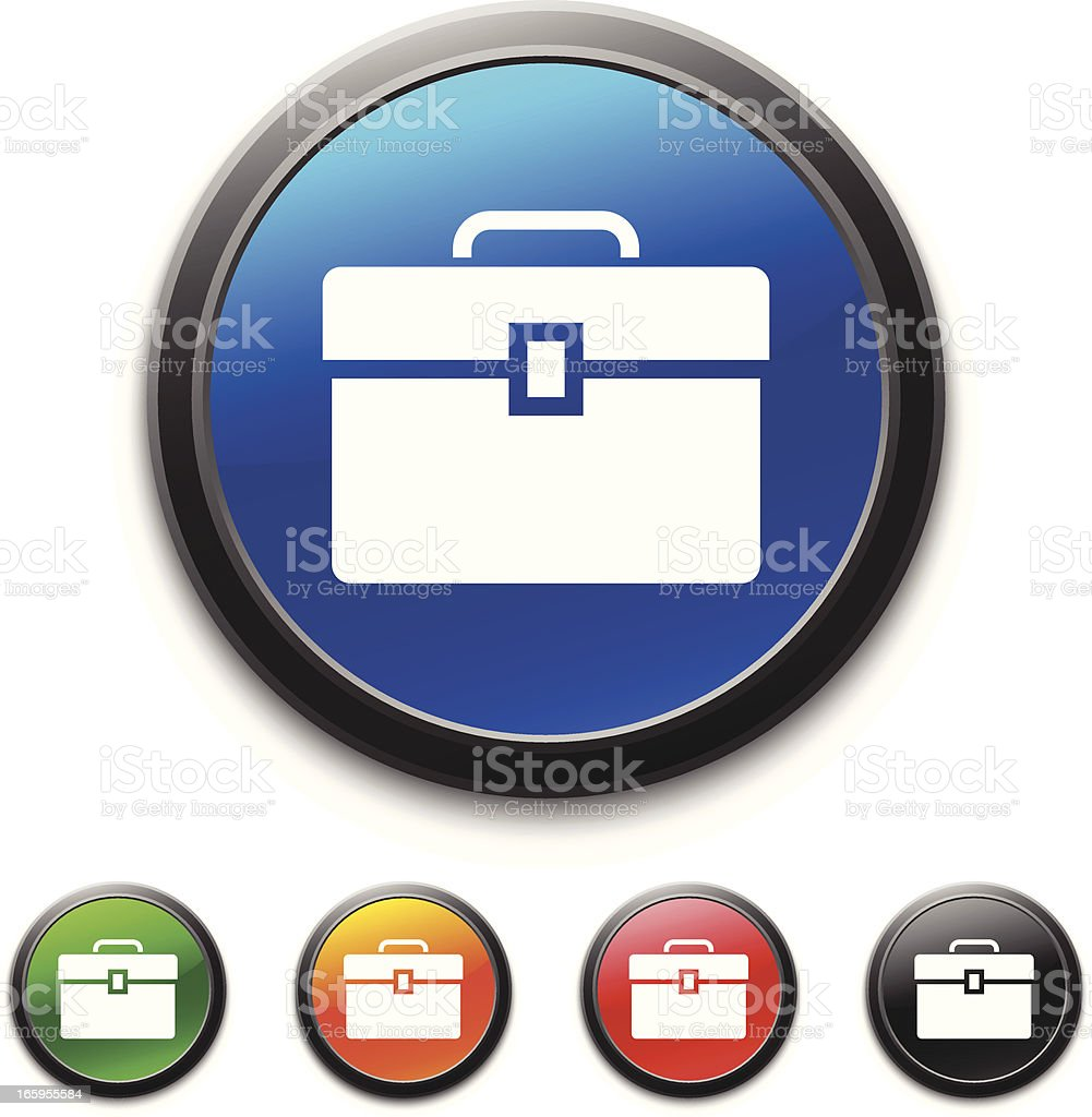 Toolbox icon royalty-free stock vector art