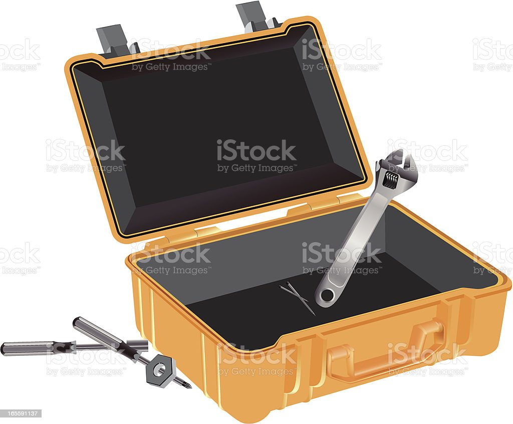 toolbox royalty-free stock vector art
