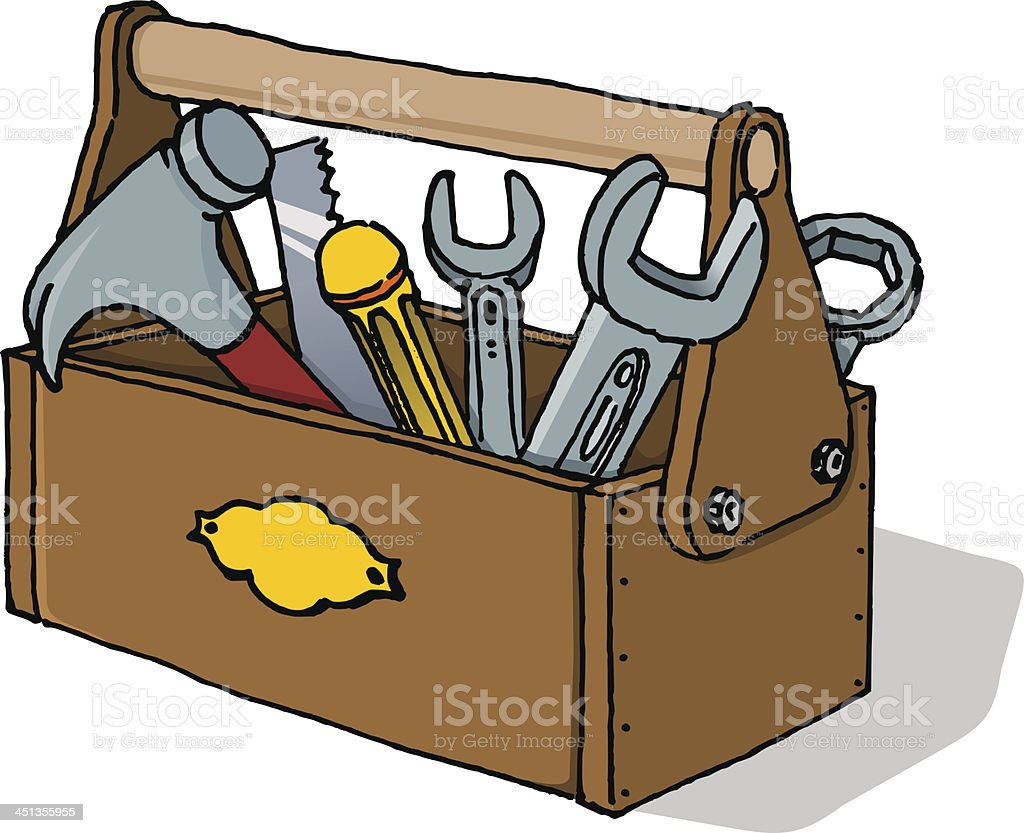 Toolbox Vector Illustration vector art illustration