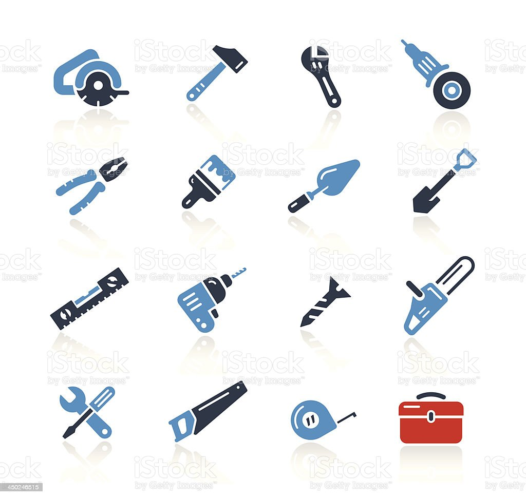 Tools Icons Two Color | Pro Series vector art illustration