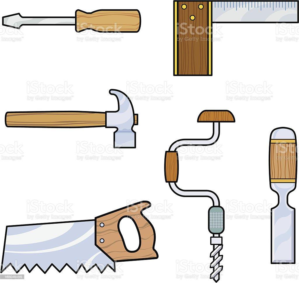 Tools royalty-free stock vector art
