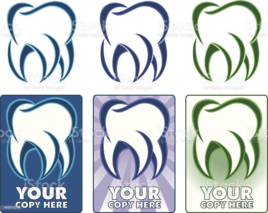Tooth logo royalty-free stock vector art