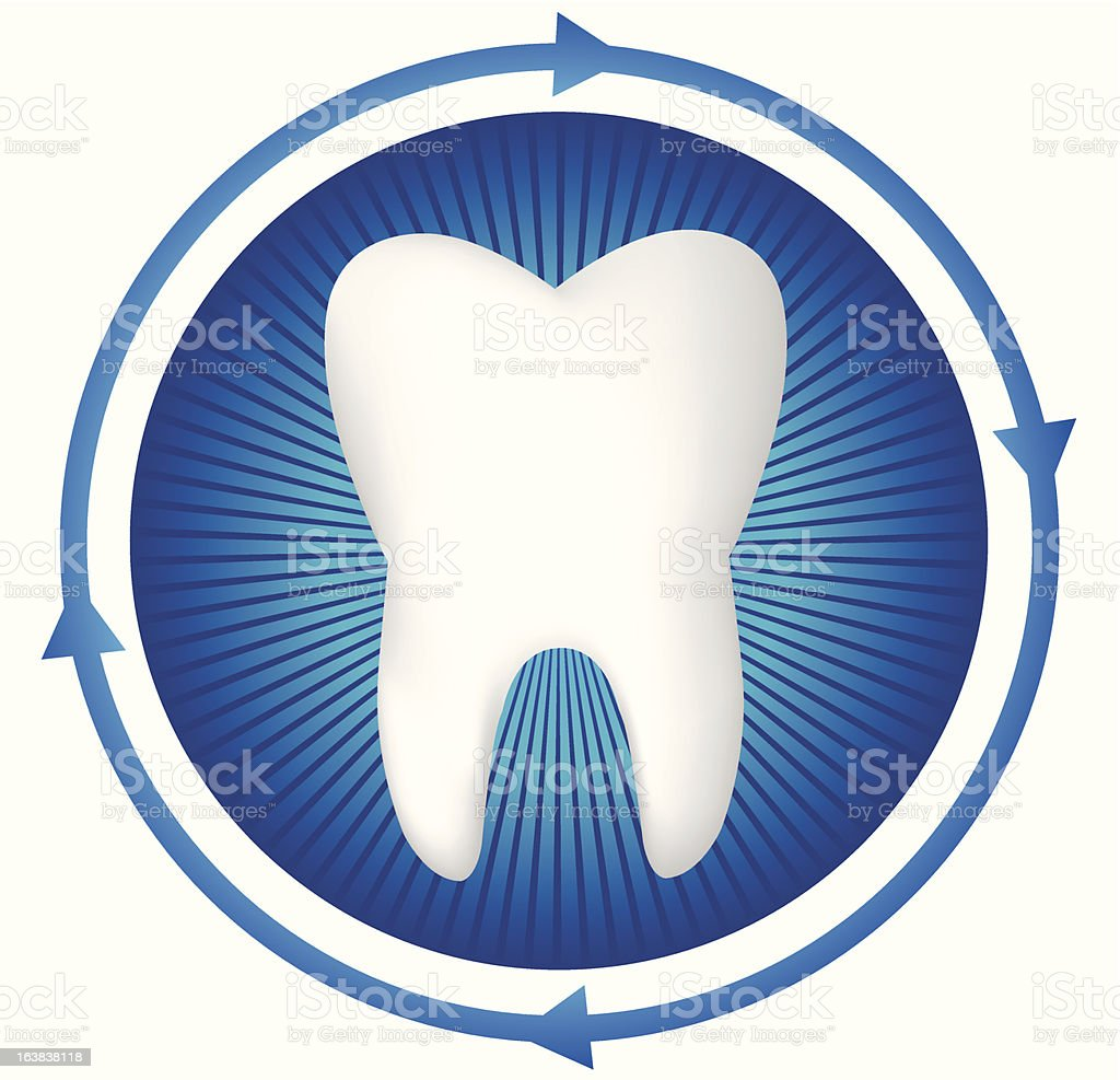 Tooth royalty-free stock vector art