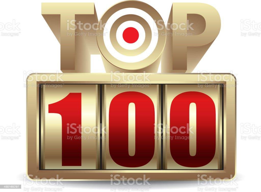 Top 100 royalty-free stock vector art