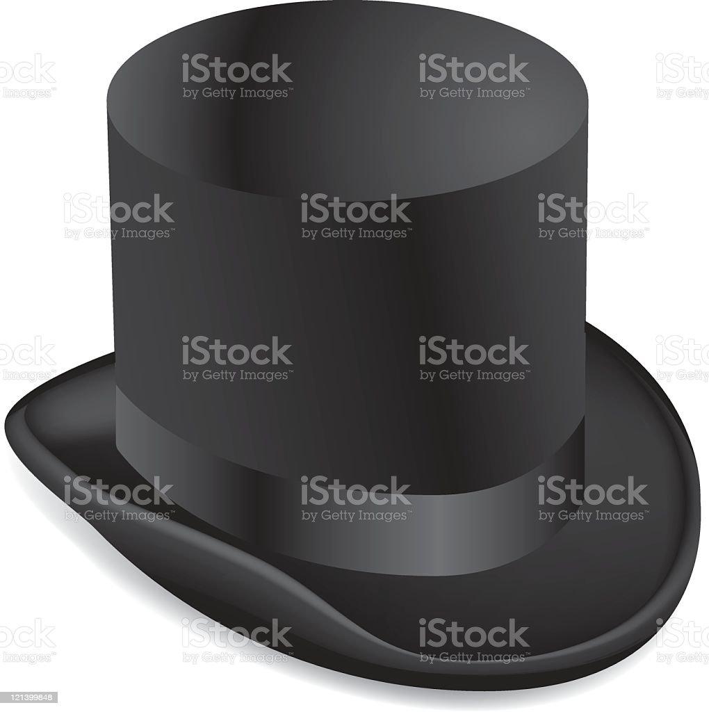 Top Hat royalty-free stock vector art