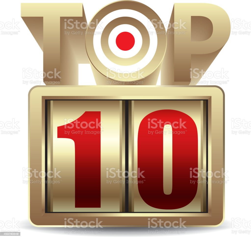 Top10 royalty-free stock vector art
