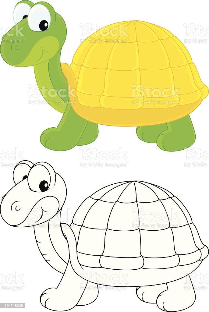 Tortoise royalty-free stock vector art
