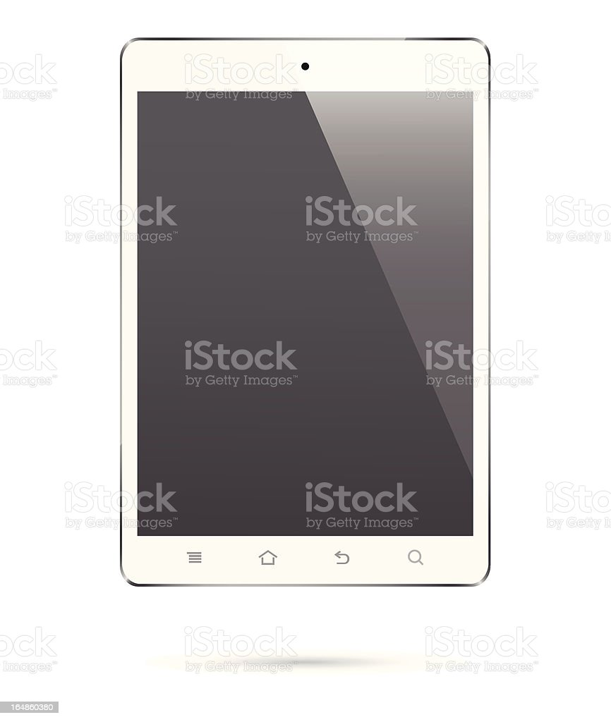 touch screen digital tablet royalty-free stock vector art