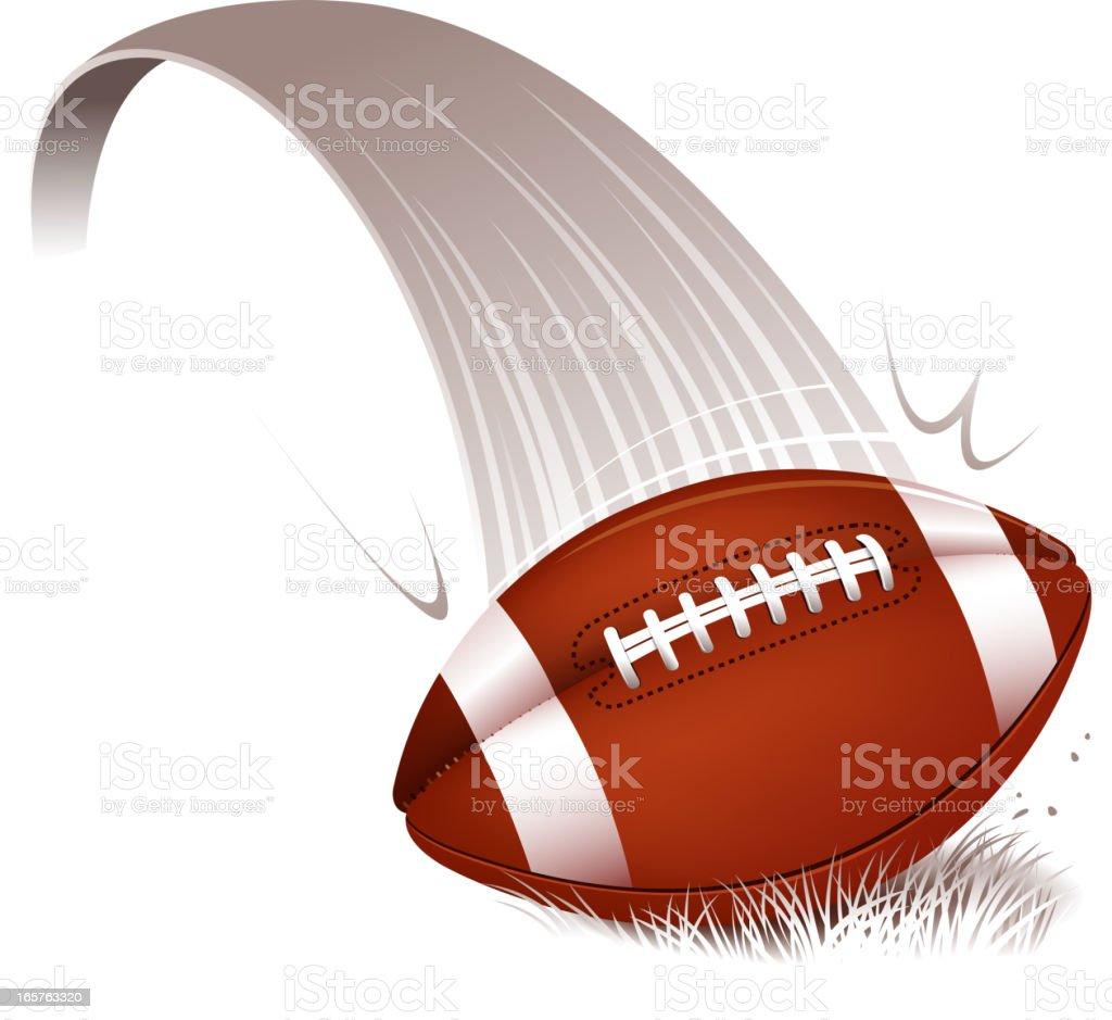 touchdown vector art illustration