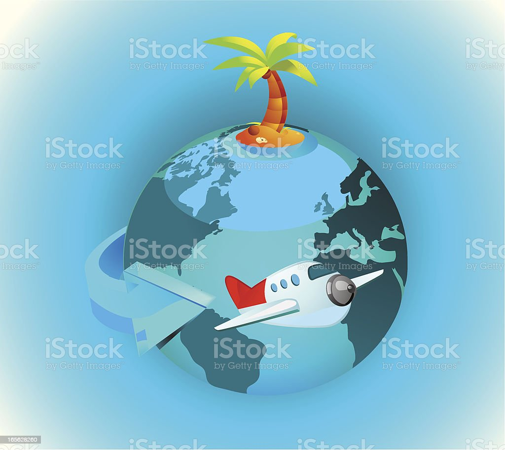 Tourism and Vacations royalty-free stock vector art