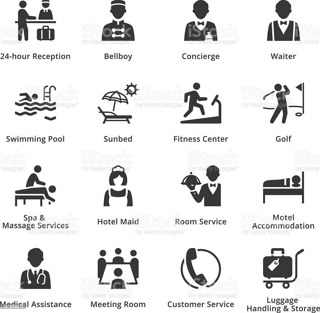 Tourism & Travel Icons - Set 2 vector art illustration