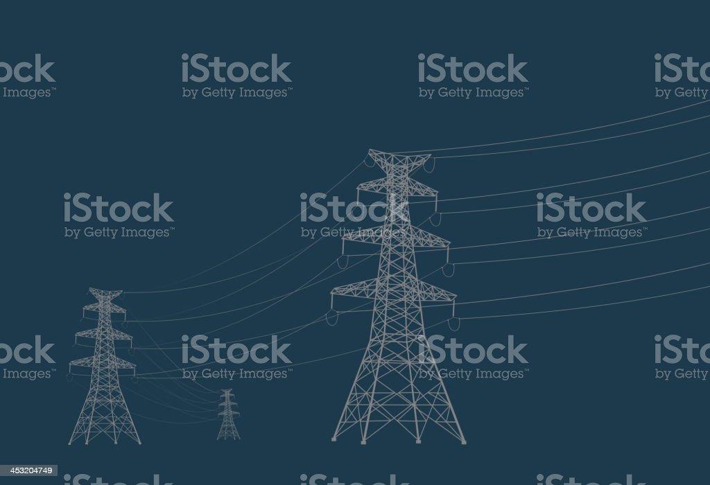 Tower vector art illustration