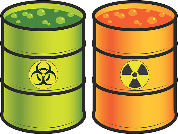 Toxic Waste Drum Biohazard Symbol Barrel Clip Art, Vector Images
