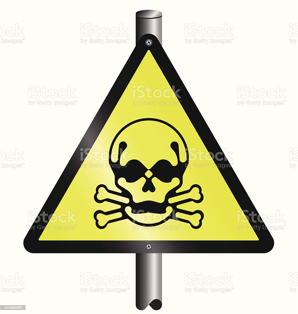 Toxic hazard royalty-free stock vector art