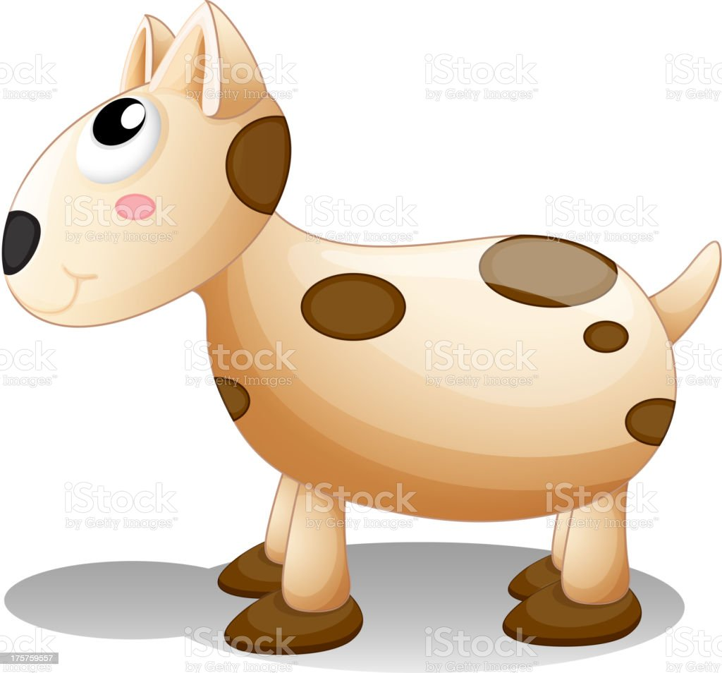 Toy puppy royalty-free stock vector art