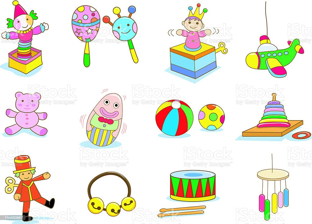 toy vector art illustration