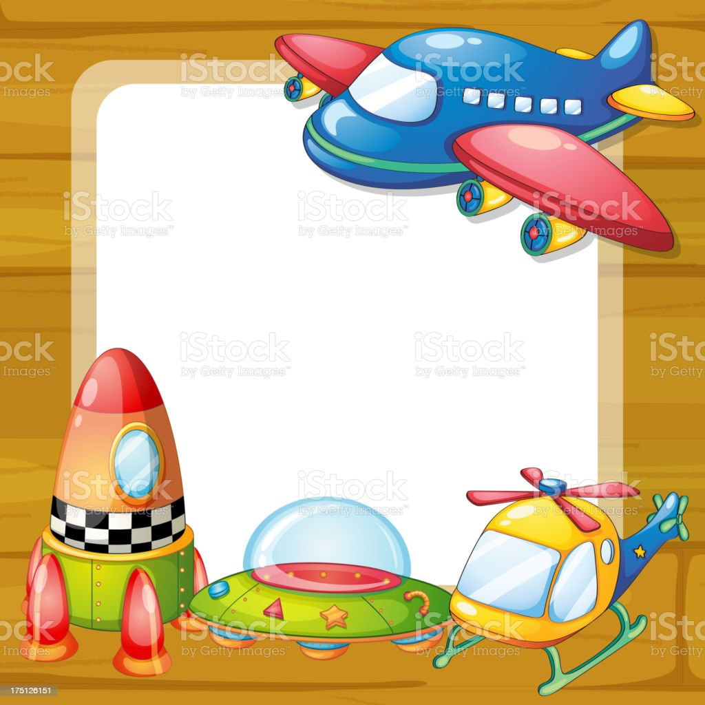 toys and board royalty-free stock vector art