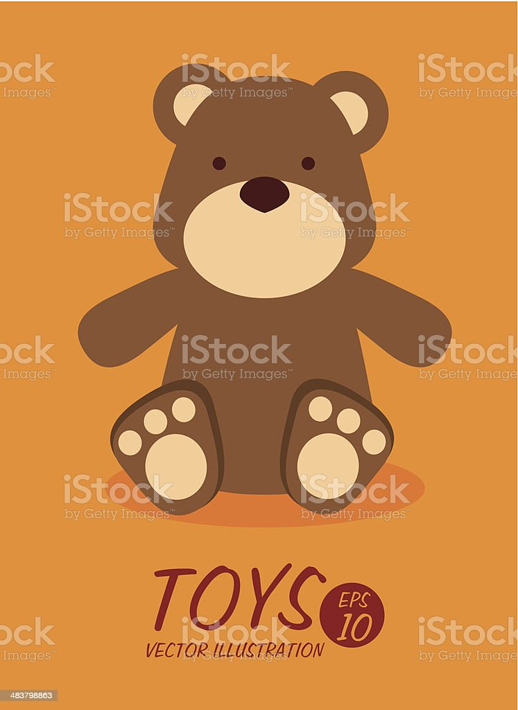toys design vector art illustration