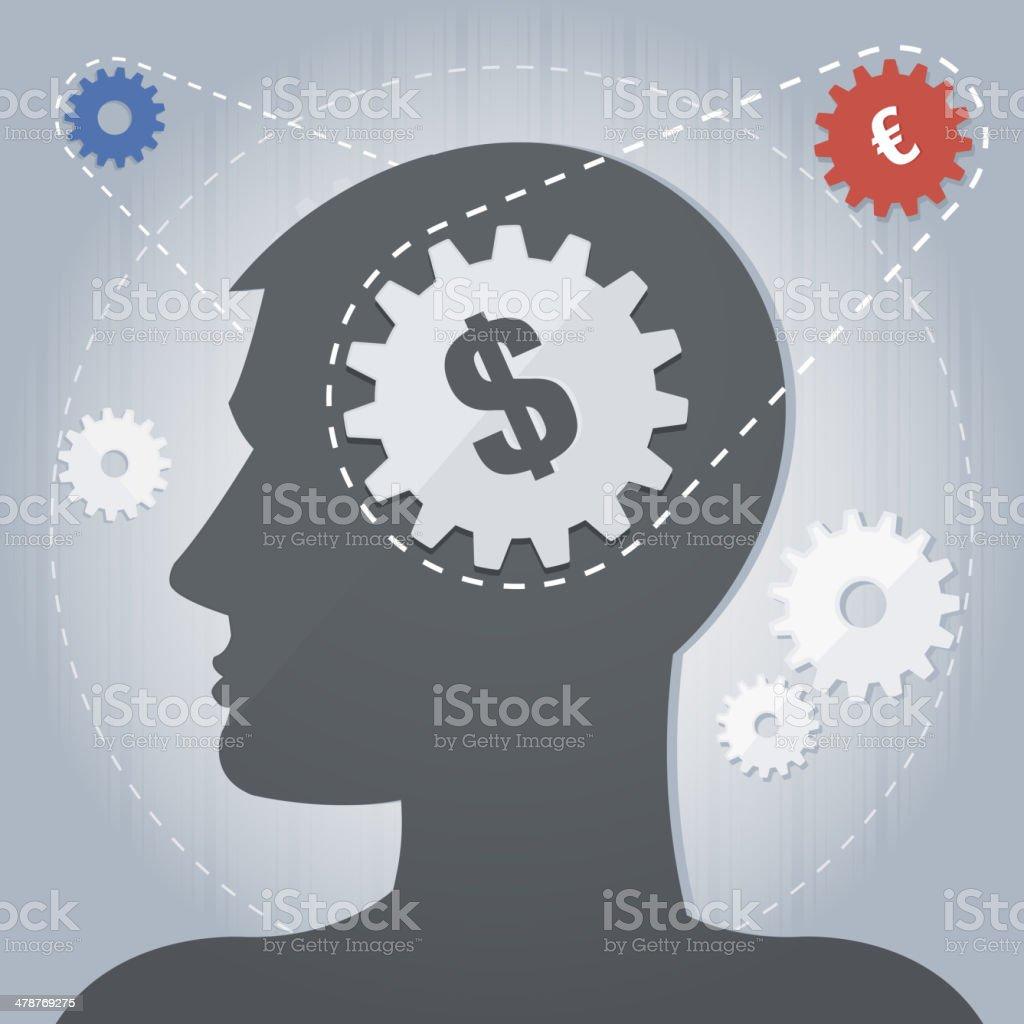 Trade Logic royalty-free stock vector art