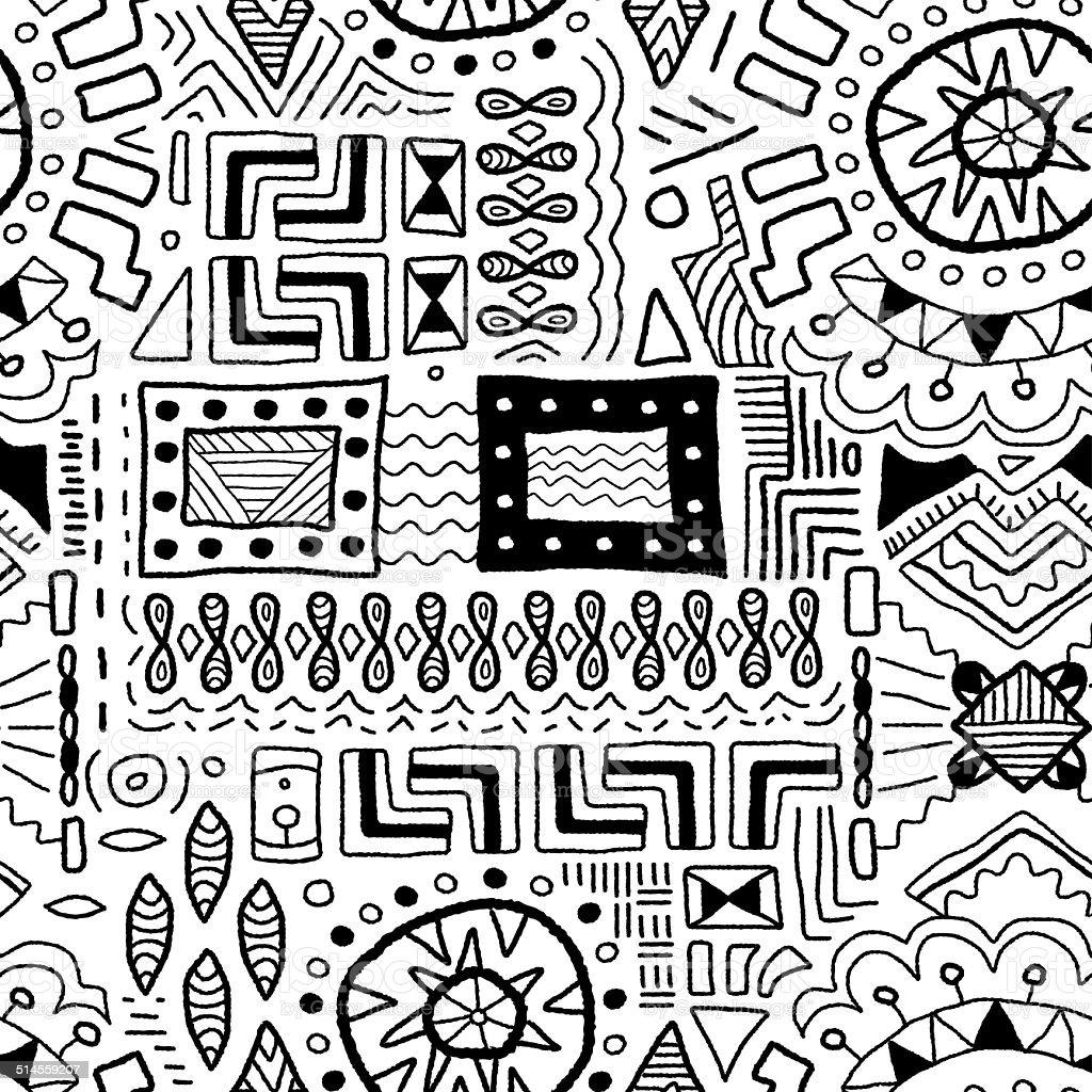 Traditional art background vector art illustration