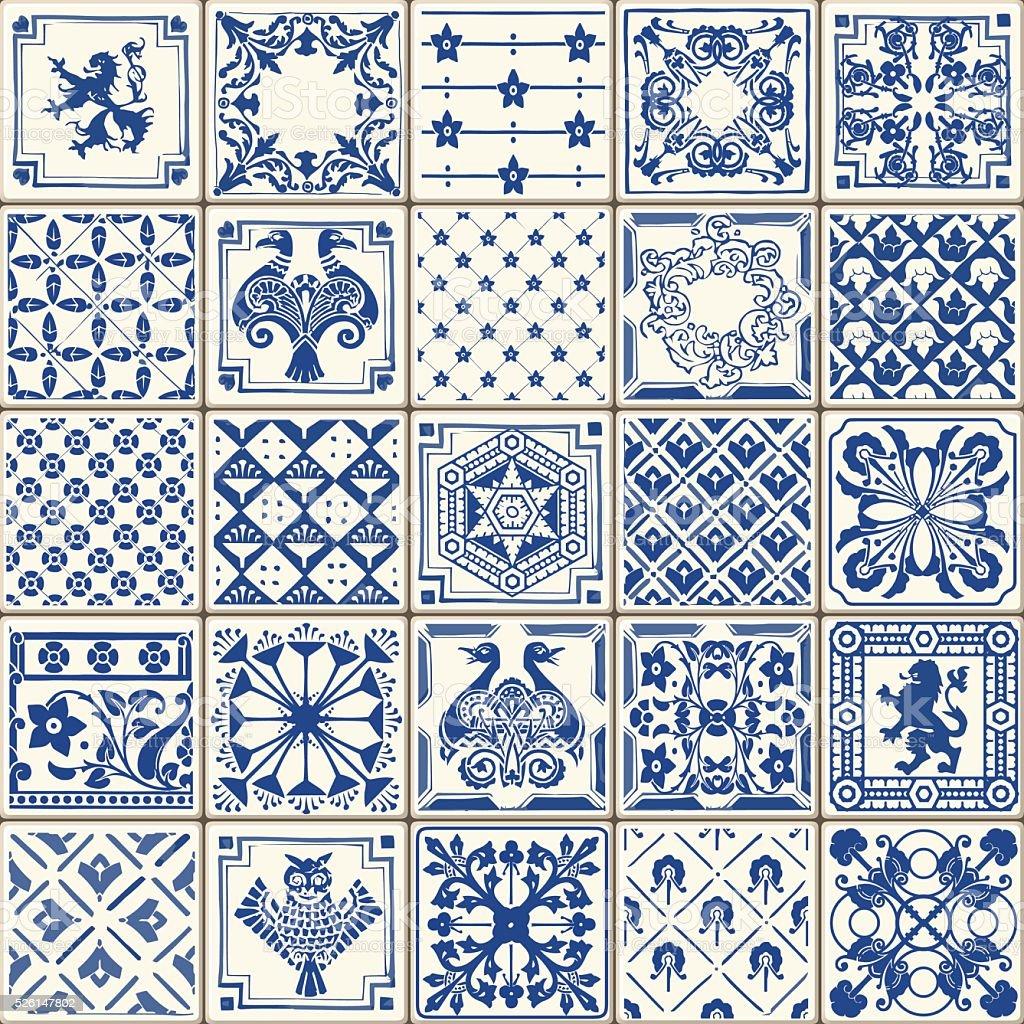 Traditional Ceramic 05 Vintage 2D vector art illustration