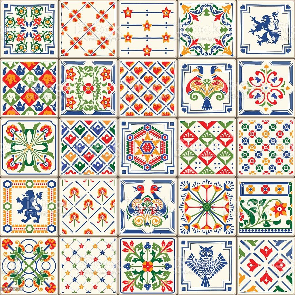 Traditional Ceramic 06 Vintage 2D vector art illustration